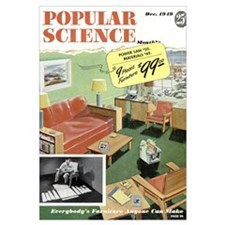 Popular Science Cover, December 1949