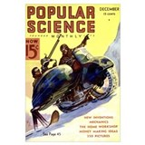 Popular Science Cover, December 1936