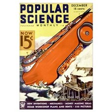 Popular Science Cover, December 1933