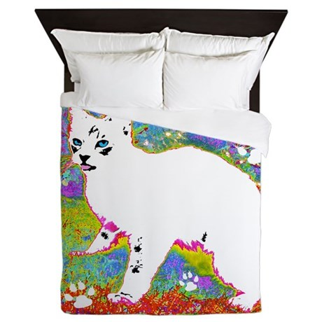 Little One Spring Queen Duvet