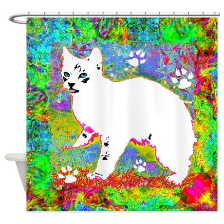 Little One Spring Shower Curtain