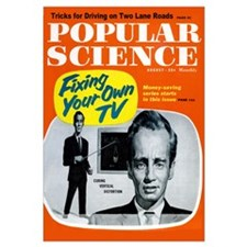 Popular Science Cover, August 1960
