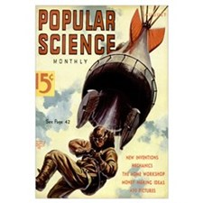 Popular Science Cover, August 1938