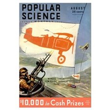 Popular Science Cover, August 1932