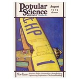 Popular Science Cover, August 1929
