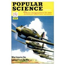 Popular Science Cover, April 1941