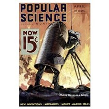 Popular Science Cover, April 1933