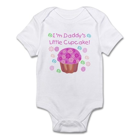 Daddy's Little Cupcake Infant Creeper