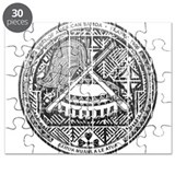 American Samoa Coat Of Arms Puzzle