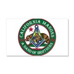 California Brothers Car Magnet 20 x 12