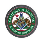 California Brothers Wall Clock