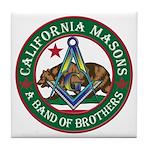 California Brothers Tile Coaster