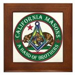 California Brothers Framed Tile