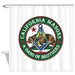 California Freemasons Shower Curtain