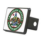 California Freemasons Rectangular Hitch Cover