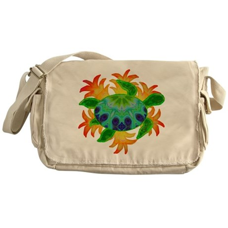 Flame Turtle Messenger Bag