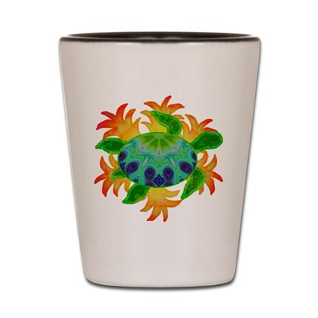 Flame Turtle Shot Glass