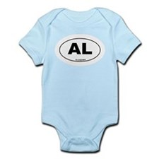 Alabama State Infant Bodysuit