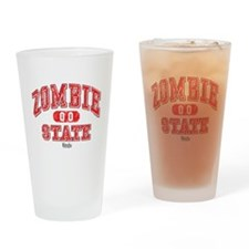 Zombie State Drinking Glass