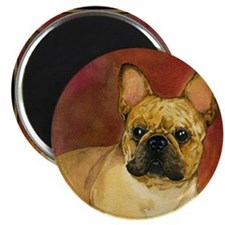 French Bulldog Painting Portrait Magnet