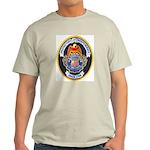 U S Customs Ash Grey T-Shirt
