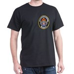 U S Customs Black T-Shirt