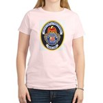 U S Customs Women's Pink T-Shirt