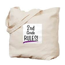 2nd Grade Rules! Tote Bag