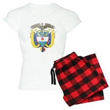 Colombia Coat Of Arms Pajamas