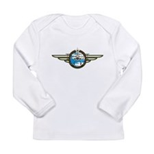 Airforce Pilot in Biplane Infant T-Shirt