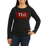 Liberal Grouch Logo Women's Long Sleeve Dark T-Shi