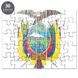 Ecuador Coat Of Arms Puzzle