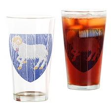 Faroe Islands Coat Of Arms Drinking Glass