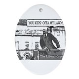 The Original Grouchy Bolshevik Ornament (Oval)