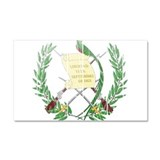 Guatemala Coat Of Arms Car Magnet 20 x 12