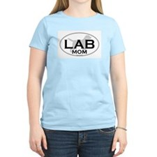 Labrador Retriever MOM Women's Pink T-Shirt