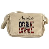 America, Home of the Brave! Messenger Bag