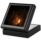 Cave Candle Keepsake Box