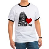 Building I Love Architecture Tee