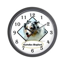 Aussie 8 Wall Clock