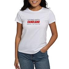 I Stand With Candland Shirt Tee