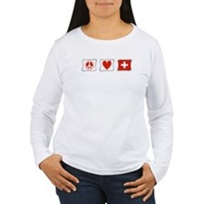 Peace Love and Switzerland T-Shirt