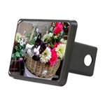Kitten in a Basket Rectangular Hitch Cover