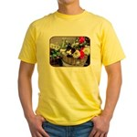 Kitten in a Basket Yellow T-Shirt