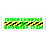 Zombie Outbreak Response Team Bumper Sticker