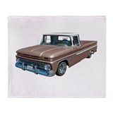1963 Chevy C10 Throw Blanket