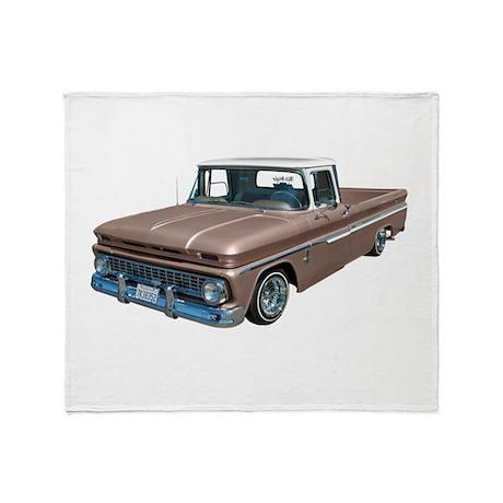 1963 Chevy C10 Throw Blanket