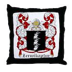 Zerwikaptur Coat of Arms Throw Pillow