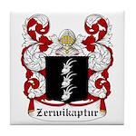 Zerwikaptur Coat of Arms Tile Coaster