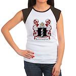 Zerwikaptur Coat of Arms Women's Cap Sleeve T-Shir